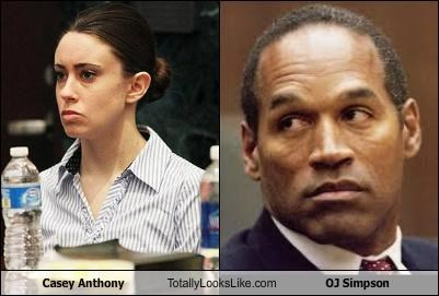 Casey Anthony oj simpson trial verdict