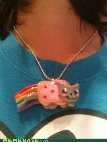 IRL,necklace,Nyan Cat