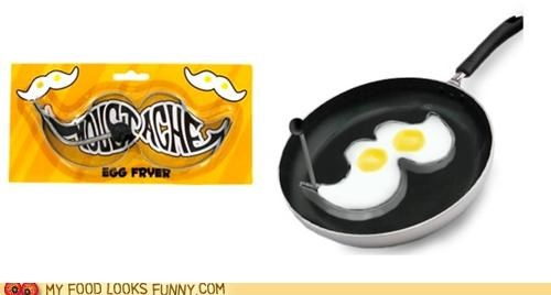 cooking,eggs,mold,moustache,shape