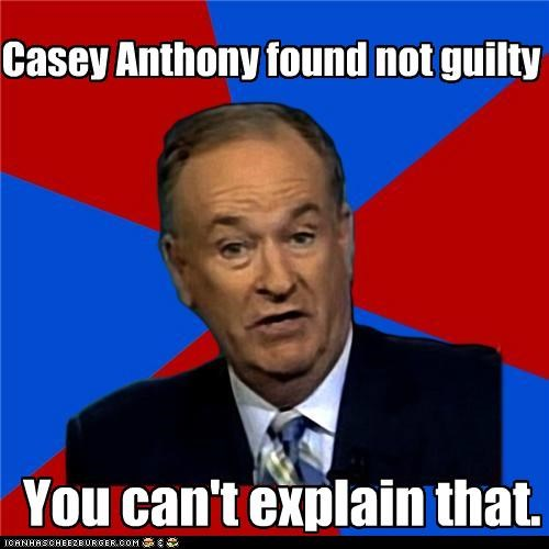 Casey Anthony found not guilty You can't explain that.