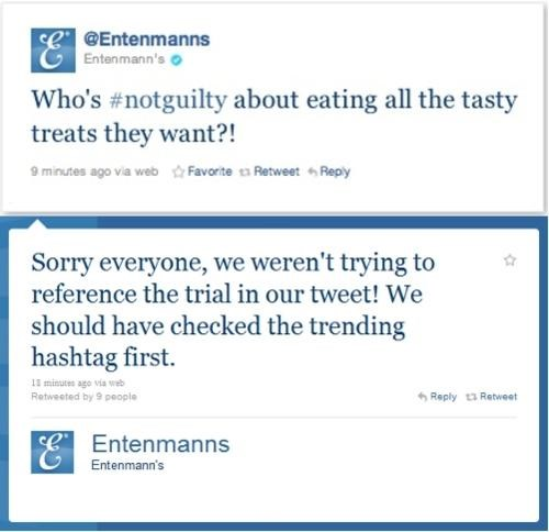 notguiltypleasure,Casey Anthony,Entenmanns,tweet