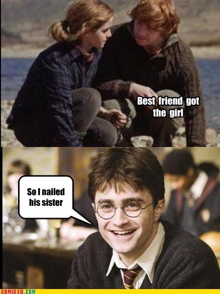 ginny weasley Harry Potter hermione granger Ron Weasley sex - 4942106624