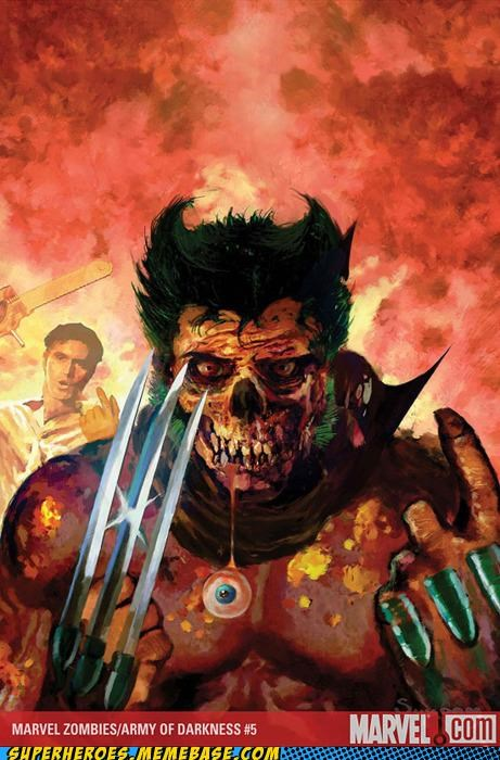 ash Awesome Art undead wolverine zombie - 4942187008