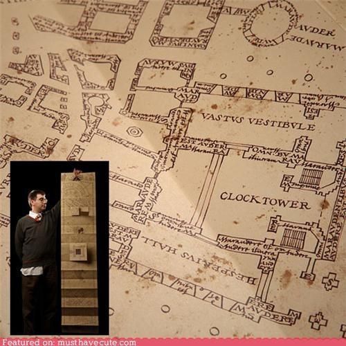 Harry Potter map - 4942197248