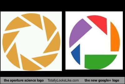 aperture science,goggle,google,logos,Portal
