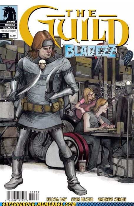 bladezz comics guild Random Heroics sweet - 4942219520
