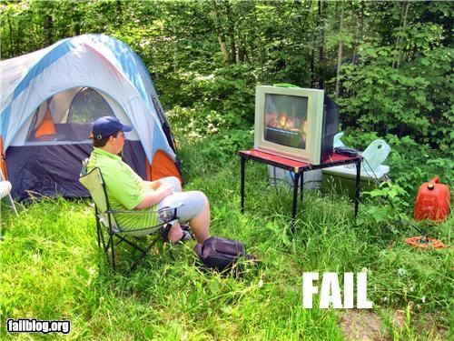 camping,failboat,g rated,oh canada,summer fails,technology,vacation