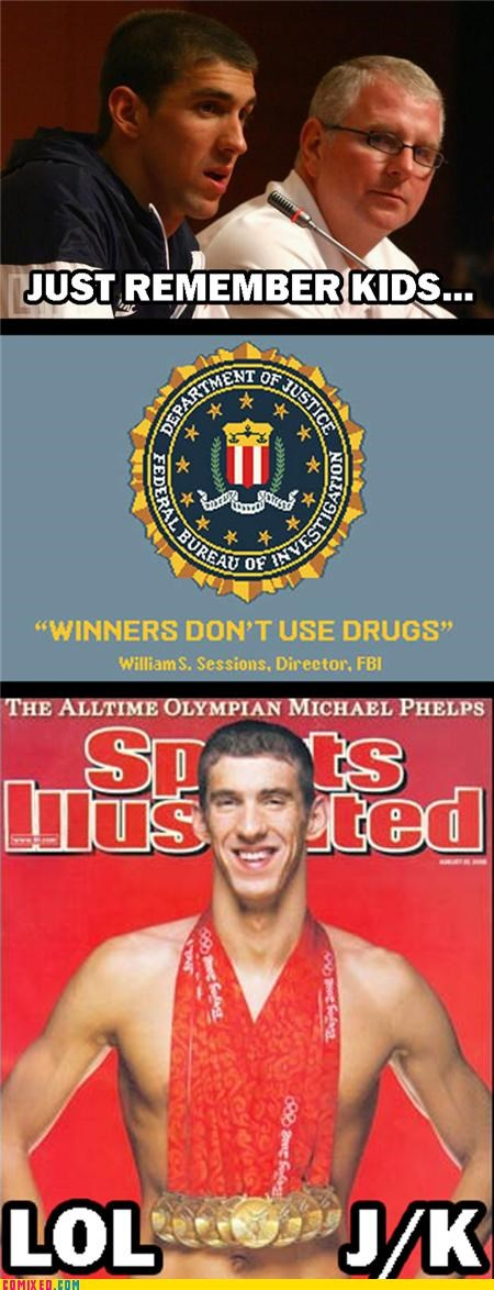 bong marijuana Michael Phelps news swim the internets - 4942237696