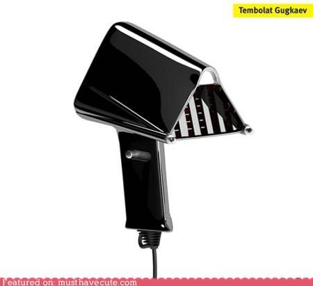 air darth vader hair dryer hairdryer mask nose - 4942279424