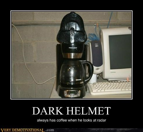 coffee maker dark helmet hilarious spaceballs wtf - 4942321664