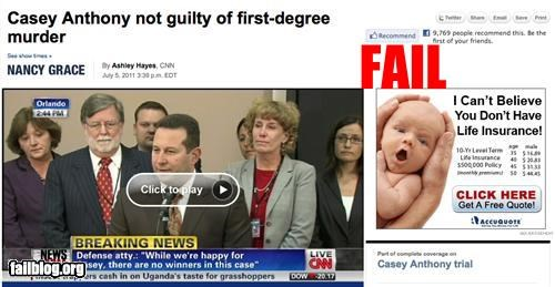 ads,Casey Anthony,failboat,g rated,juxtaposition,package,too soon
