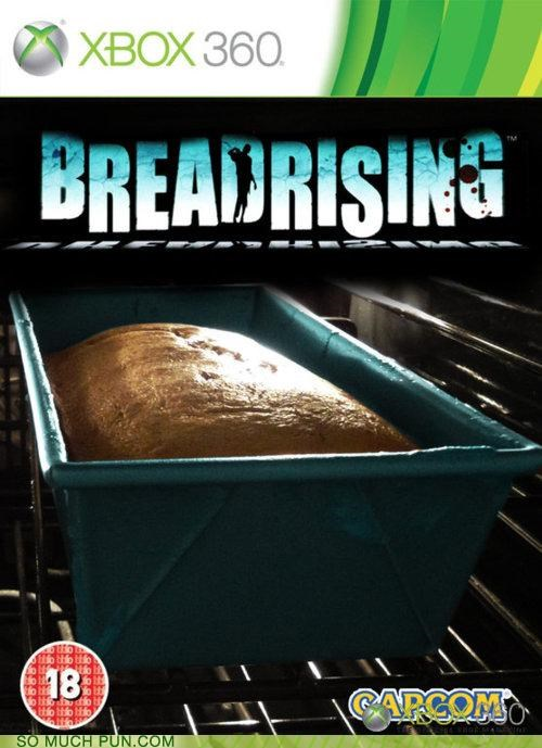 bread,dead,Dead Rising,double meaning,literalism,rising,similar sounding,video game