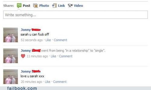 facebook,failbook,g rated,relationship status,romance,that was fast