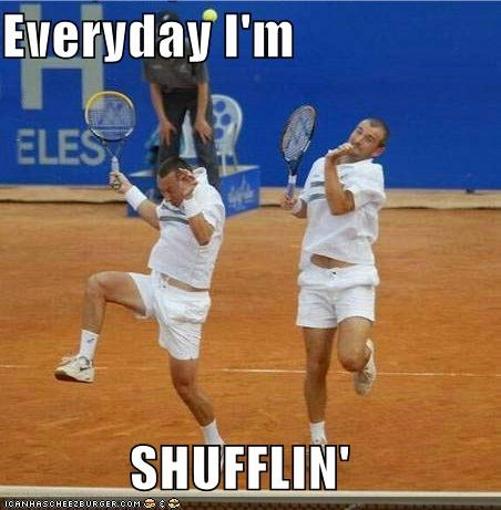dance doubles shuffle Sportderps tennis that face