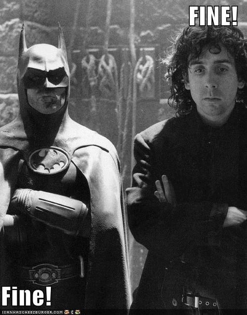 actor batman celeb director funny Michael Keaton tim burton - 4943583744
