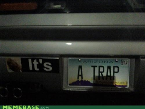 ackbar,admiral,admiral ackbar,arizona,car,license plate,trap