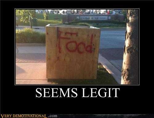 food crate hilarious seems legit wtf - 4943869696