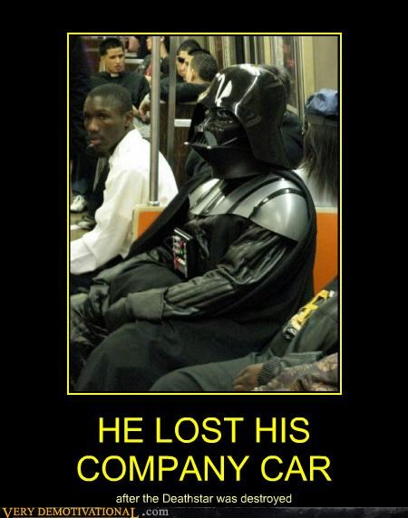 bus costume darth vader Death Star hilarious star wars - 4944761856