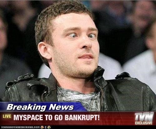 bankrupt,Celebriderp,Justin Timberlake,myspace