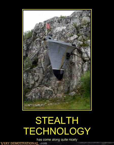 boat hilarious rock stealth technology - 4945247232