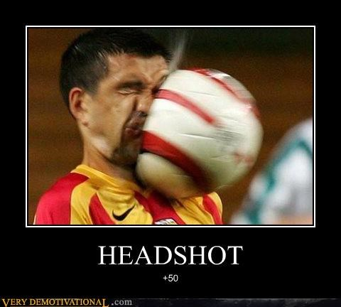 headshot hilarious soccer sports wtf - 4945337856