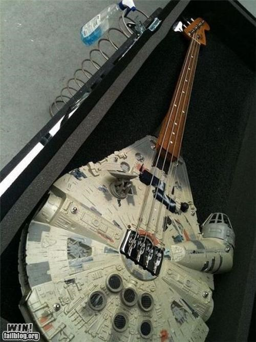 bass guitar guitar Hall of Fame music instrument nerdgasm star wars - 4945341184