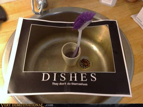 dishes,hilarious,IRL