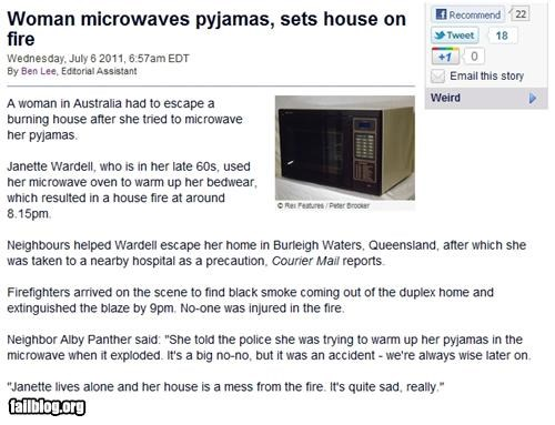 australia,failboat,fire,geriatric,g rated,microwave,Probably bad News