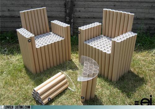 cardboard furniture poster tubes - 4945721344