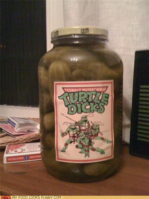 jar pickles teenage mutant ninja turt turtles - 4945735680