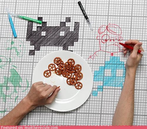 doodle graph grid markers tablecloth washable - 4945744640