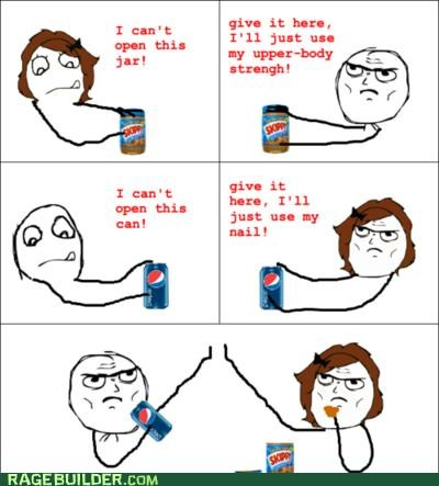 jar,men,nails,Rage Comics,win,women