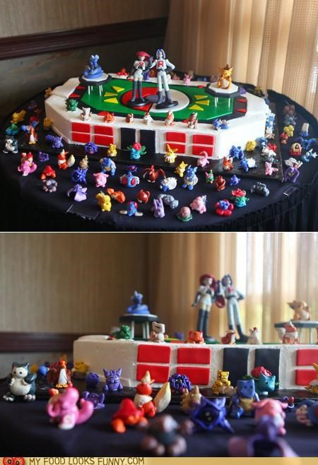 bad guys,cake,fondant,Pokémon,Team Rocket