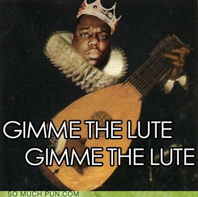 gimme,gimme the loot,homophone,literalism,loot,lute,old timey,song,title