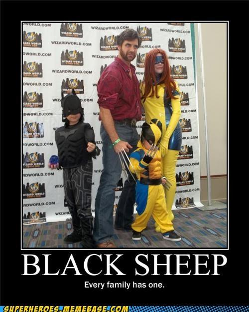 batman black sheep family photo Super-Lols wolverine x men - 4946731520