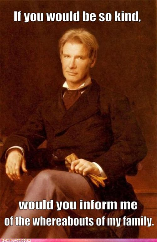 actor art fake funny Harrison Ford painting shoop - 4946992640
