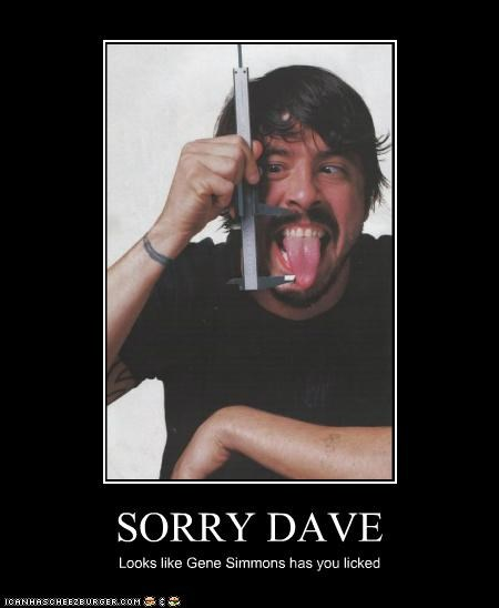 celeb Dave Grohl demotivational funny Music - 4947627520