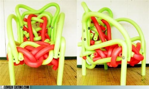 The Noodle chair