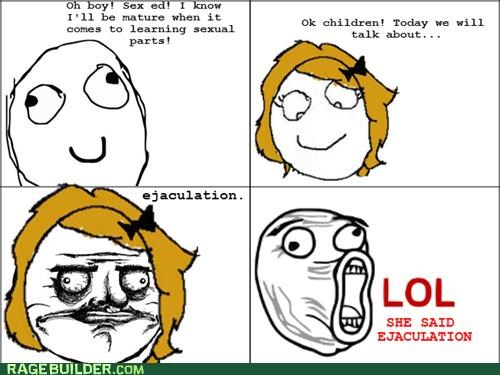 lol guy me gusta Rage Comics sex education that sounds naughty - 4948052992