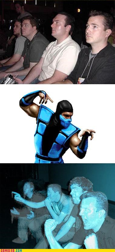 freeze frozen ice Mortal Kombat reaction guys subzero - 4948268800