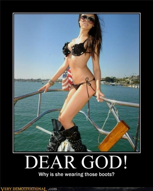 boots Dear God hilarious Sexy Ladies - 4948446720