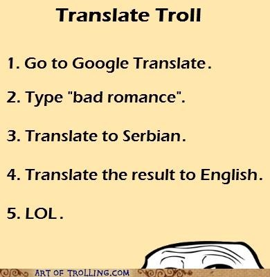 bad romance google translate win - 4948507904