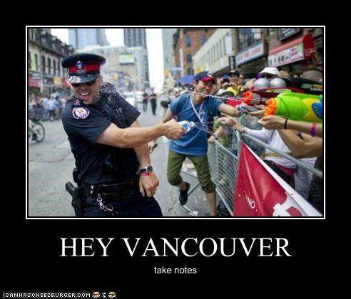 Canada,Hall of Fame,hockey,police,political pictures,vancouver