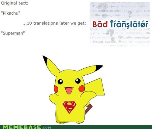 Bad Translator pikachu superman - 4948801792
