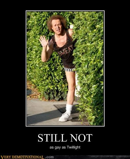 hilarious richard simmons twilight wtf - 4948806656