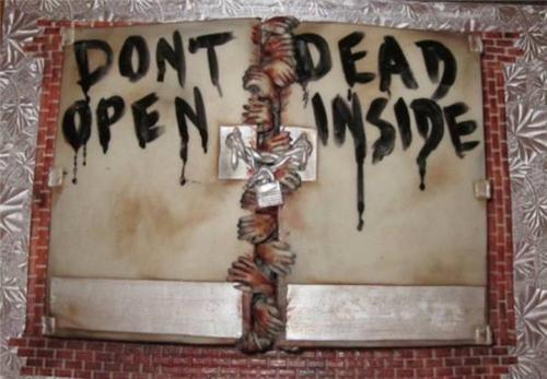 amc Atlanta cake comics food tv shows The Walking Dead - 4948857344