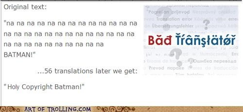 Bad Translator batman copyright Theme Song - 4948945408