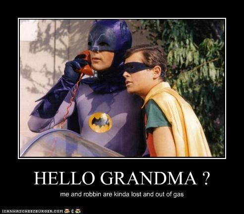 Adam West batman grandma robin Super-Lols - 4949025536