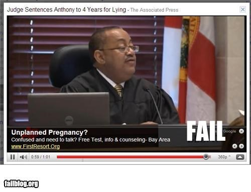 ads Casey Anthony failboat g rated juxtapositon law youtube - 4949054720