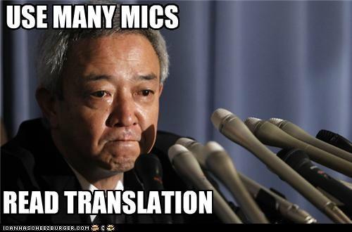 USE MANY MICS READ TRANSLATION